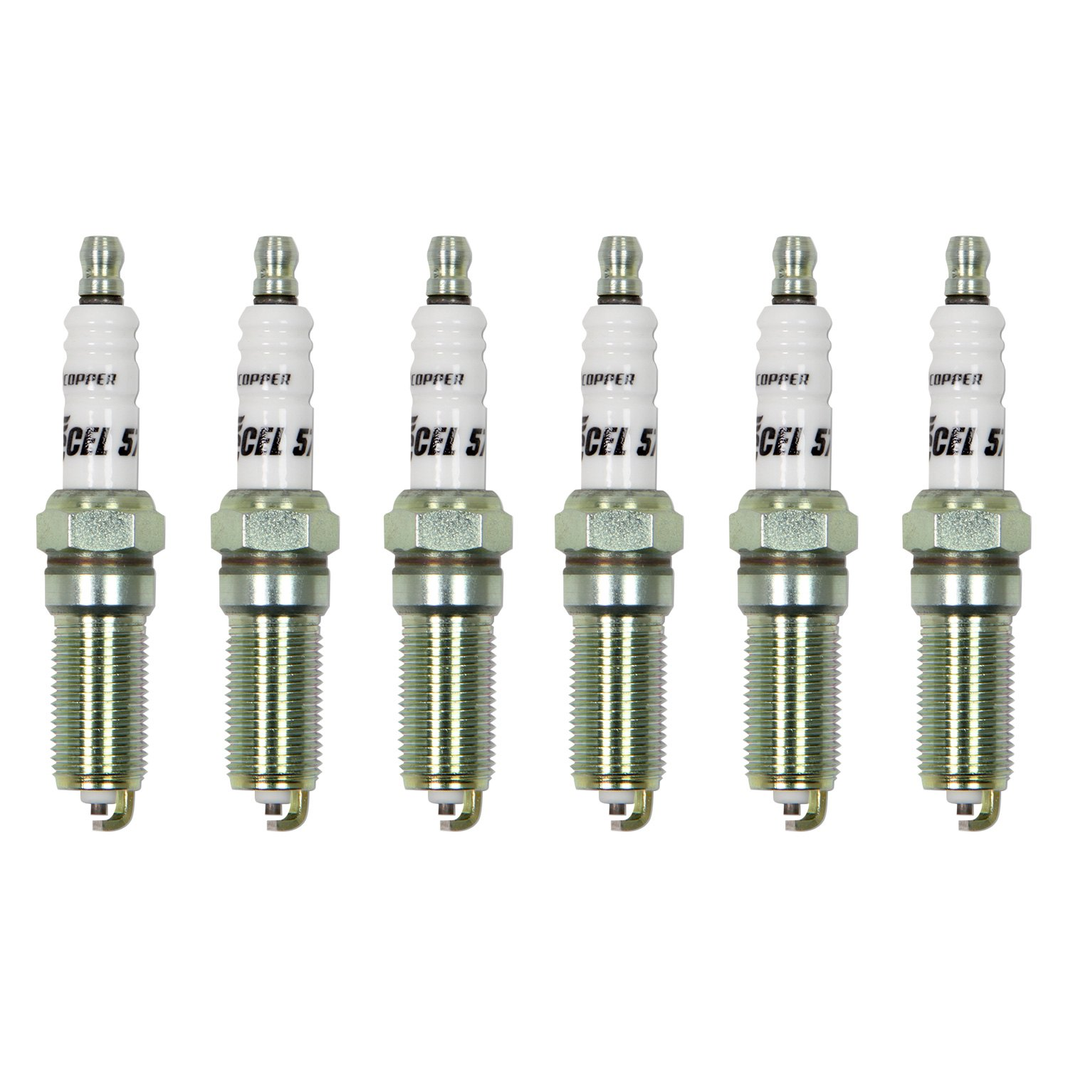 buy cheap Accel® 578-6 - HP Copper Spark Plugs for 2015 RAM 1500 TRUCK Ebay & Amazon